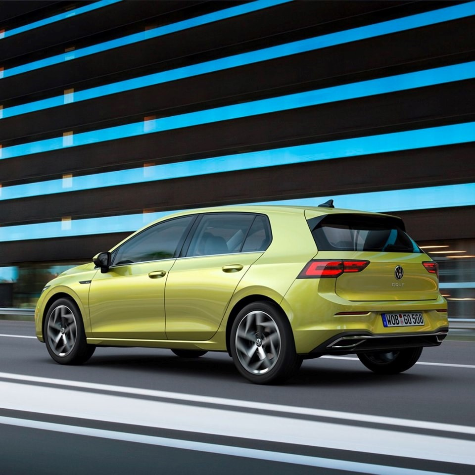 Volkswagen Golf. Generația a opta 2