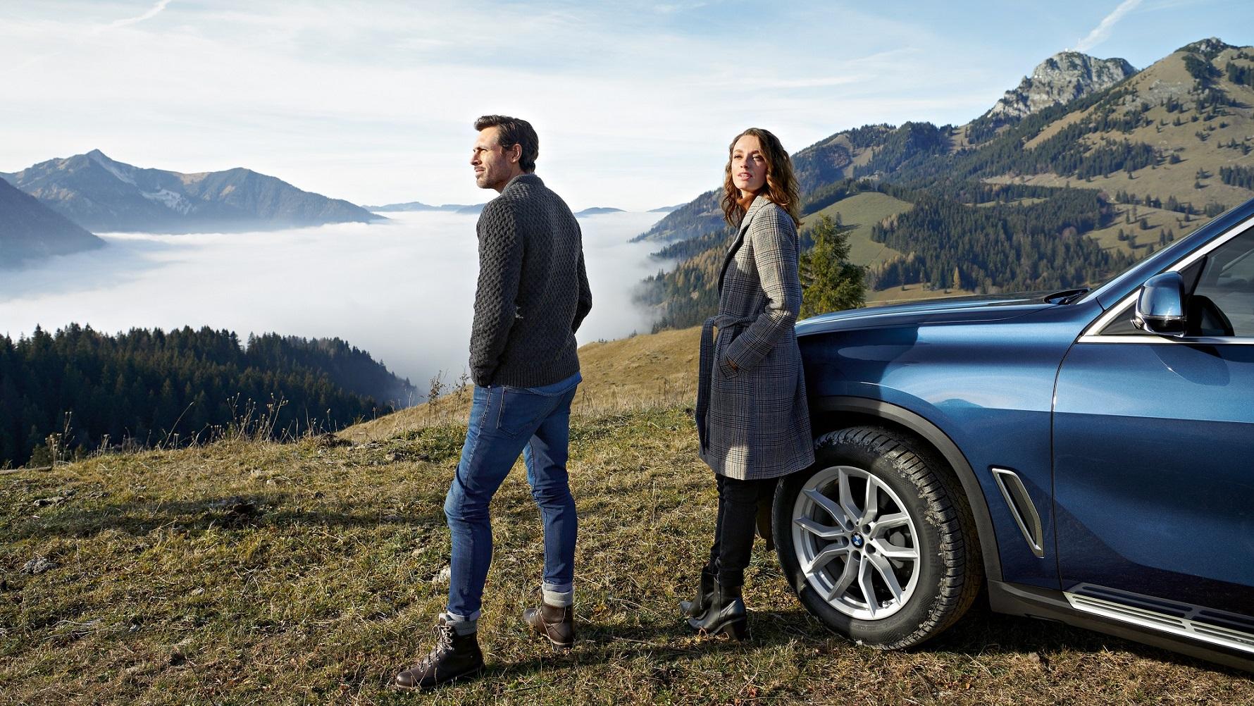 Cu seturile de roti de iarnă BMW Originale, 1