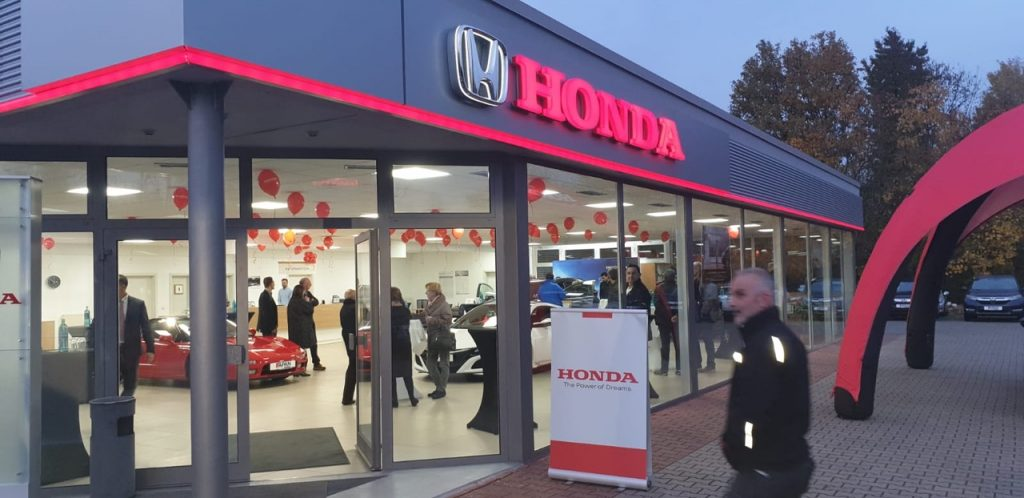 Deschiderea oficială a reprezentanței APAN Honda din Bingen am Rhein, Germania 1