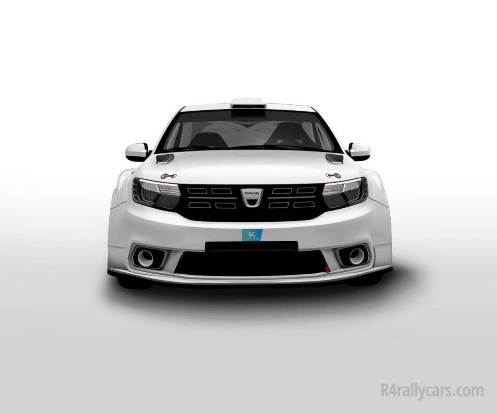 Dacia Sandero în Raliul Monte Carlo 1
