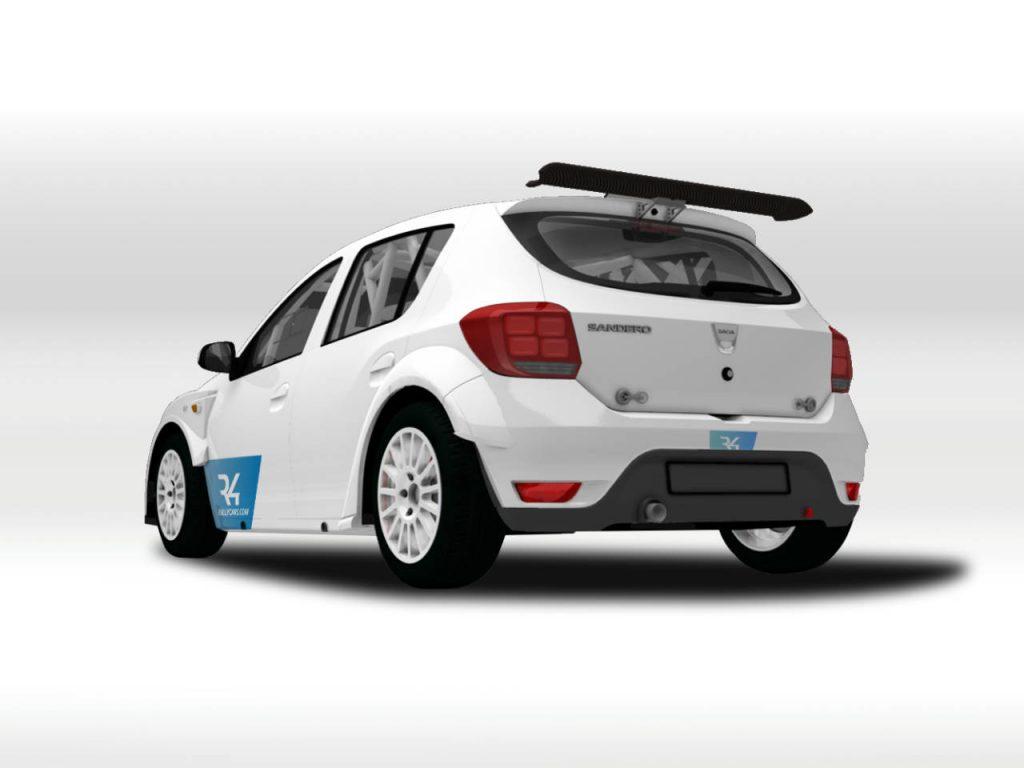 Dacia Sandero în Raliul Monte Carlo 2