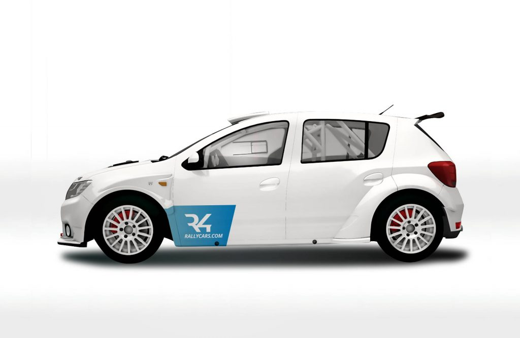 Dacia Sandero în Raliul Monte Carlo 3
