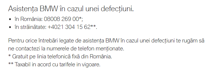BMW Mobile Care. Mereu pe mâinile experților 1