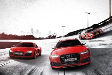 Audi Sport. Born on the Track, built for the road. 5