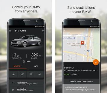 BMW Connected App  - în permanență conectat cu automobilul tău 1