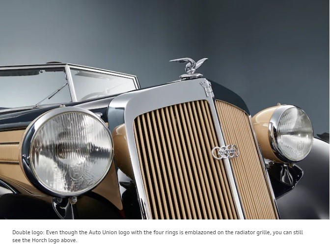 De ce are logo-ul Audi patru inele? 2