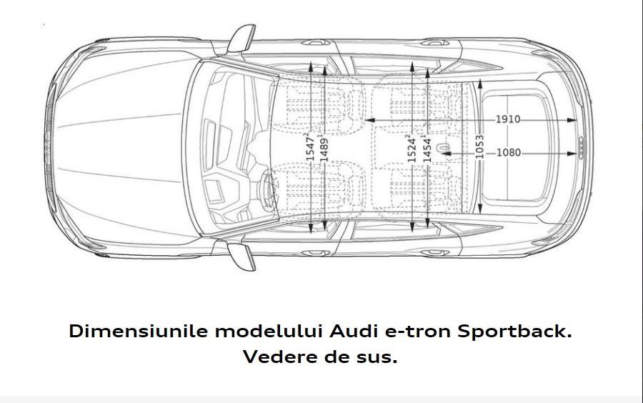 Audi e-tron Sportback - Cel dintâi sportback Audi 100% electric. 8