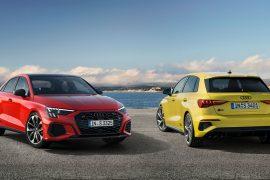 Mai dinamice, mai puternice și mai incitante: Audi S3 Sportback și Audi S3 Limuzină 1