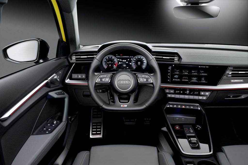 Mai dinamice, mai puternice și mai incitante: Audi S3 Sportback și Audi S3 Limuzină 5