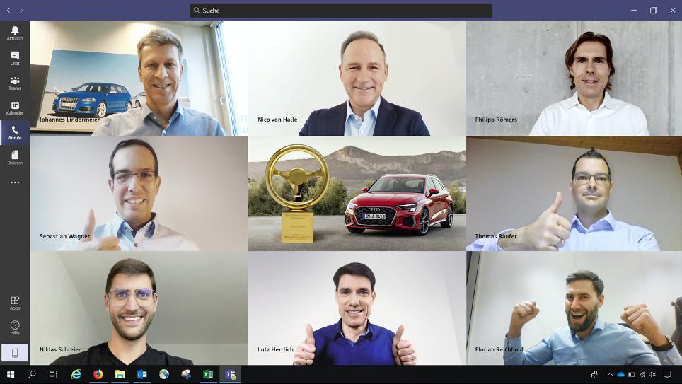 """Succes pentru Audi: A3 Sportback câștigă """"volanul de aur"""" din clasa compactă 2"""
