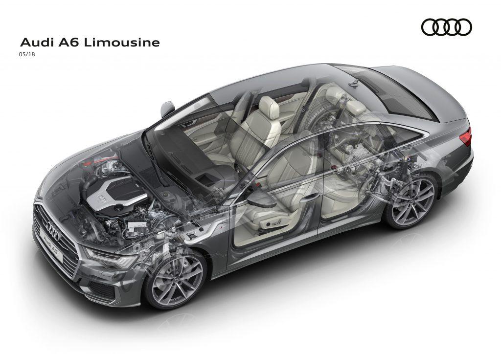 Avangardă pentru toate simţurile - Audi A6 Limuzină. 5