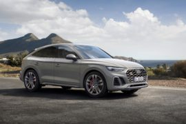 Noul SUV coupe impresionează din exterior cu designul său progresist, marcat de forță expresivă 7