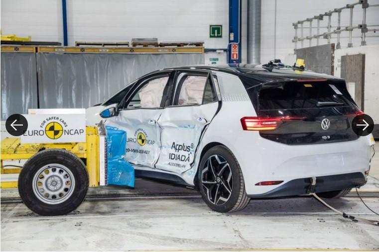 Volkswagen ID.3 – Cea mai sigură mașină în urma testelor NCAP 1