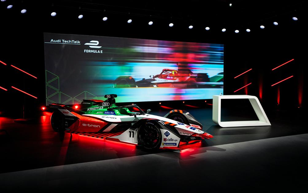 Audi luptă pentru titlul de Campion Mondial cu e-tron FE07 3